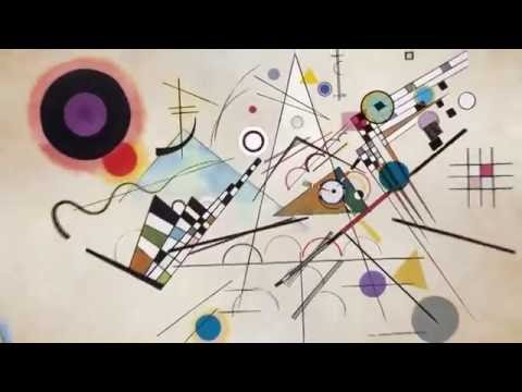 Music to animation of Kandinsky's CompositionVIII