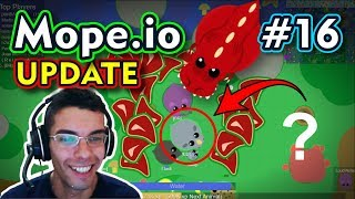 Mope.io - VIREI O T-REX - Gameplay #16