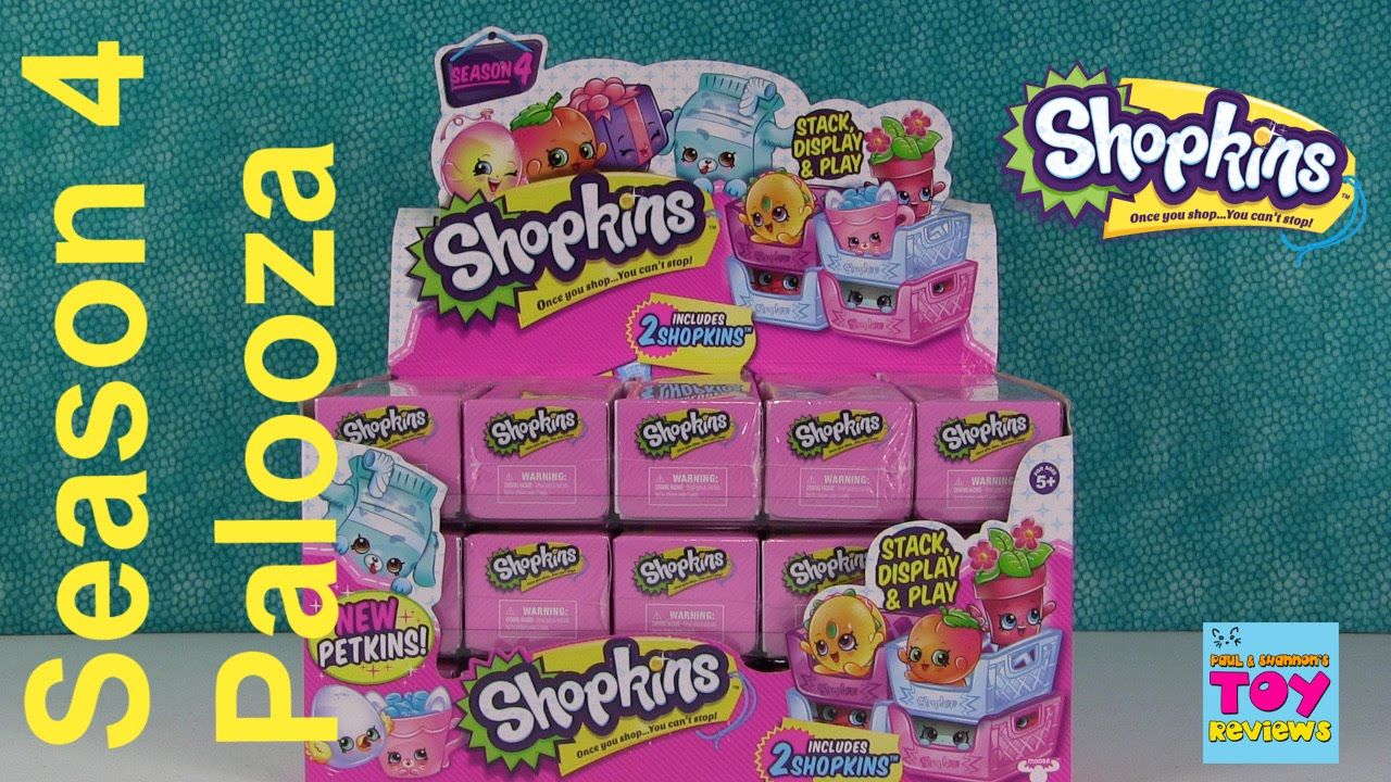SEASON 4 Shopkins Palooza