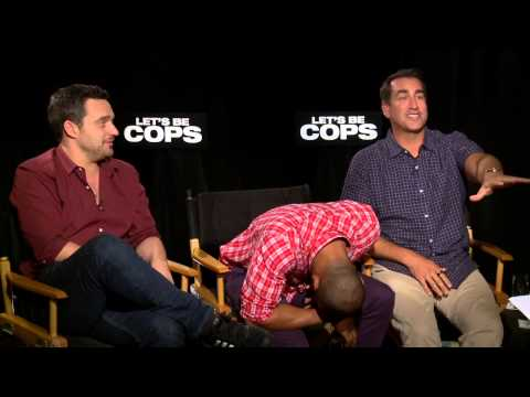 Let´s Be Cops: Damon Wayans Jr, Jake Johnson & Rob Riggle  Movie