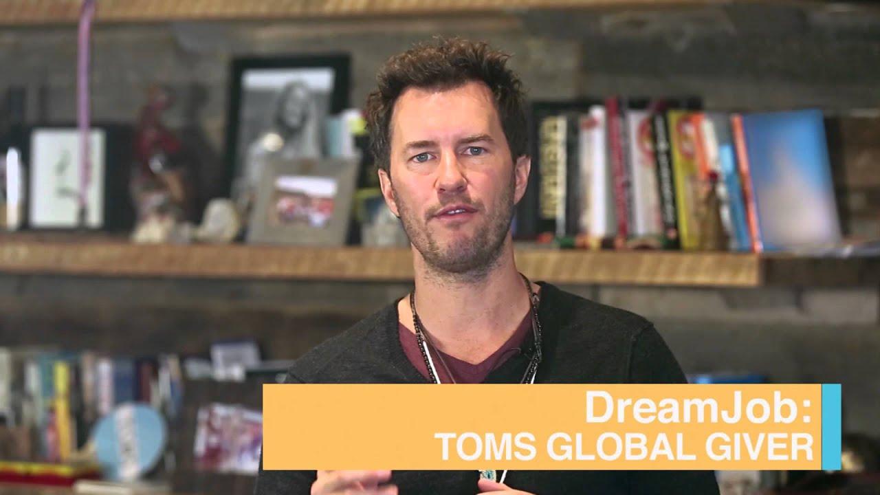 063d1ba405e TOMSDreamJob - TOMS Global Giver DreamJob - YouTube