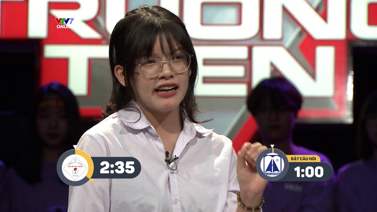 Trường Teen | Phần tranh biện giành trọn 30 điểm của Minh Anh – Học sinh không chán lịch sử dân tộc