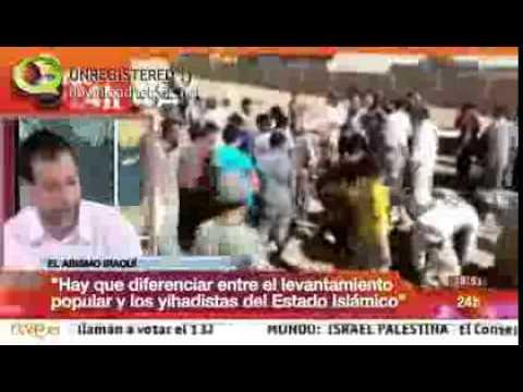 Entrevista a Pedro Rojo, presidente Al Fnar, en el canal 24h TVE