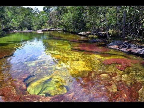 El rio mas bonito del mundo arcoiris derretido youtube for El bano mas bonito del mundo