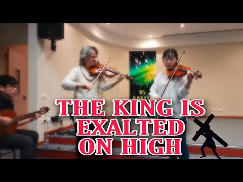 Middle East University I The King is exalted on high
