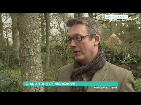 Alan Titchmarsh Tours Highgrove | This Morning