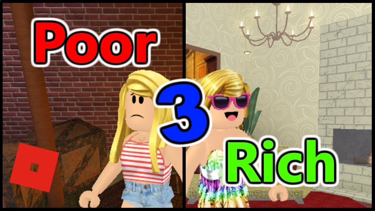 Poor To Rich Part 3 Bloxburg Short Film Roblox Story Youtube