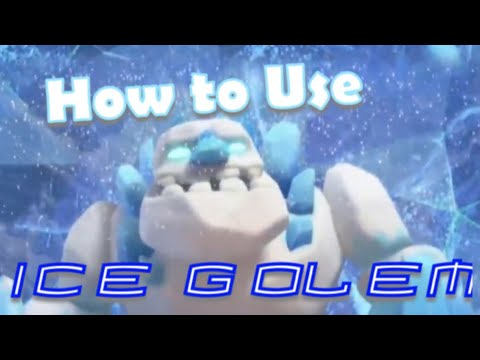 ICE GOLEM: Learn How To Use Ice Golems In Your Attacks!