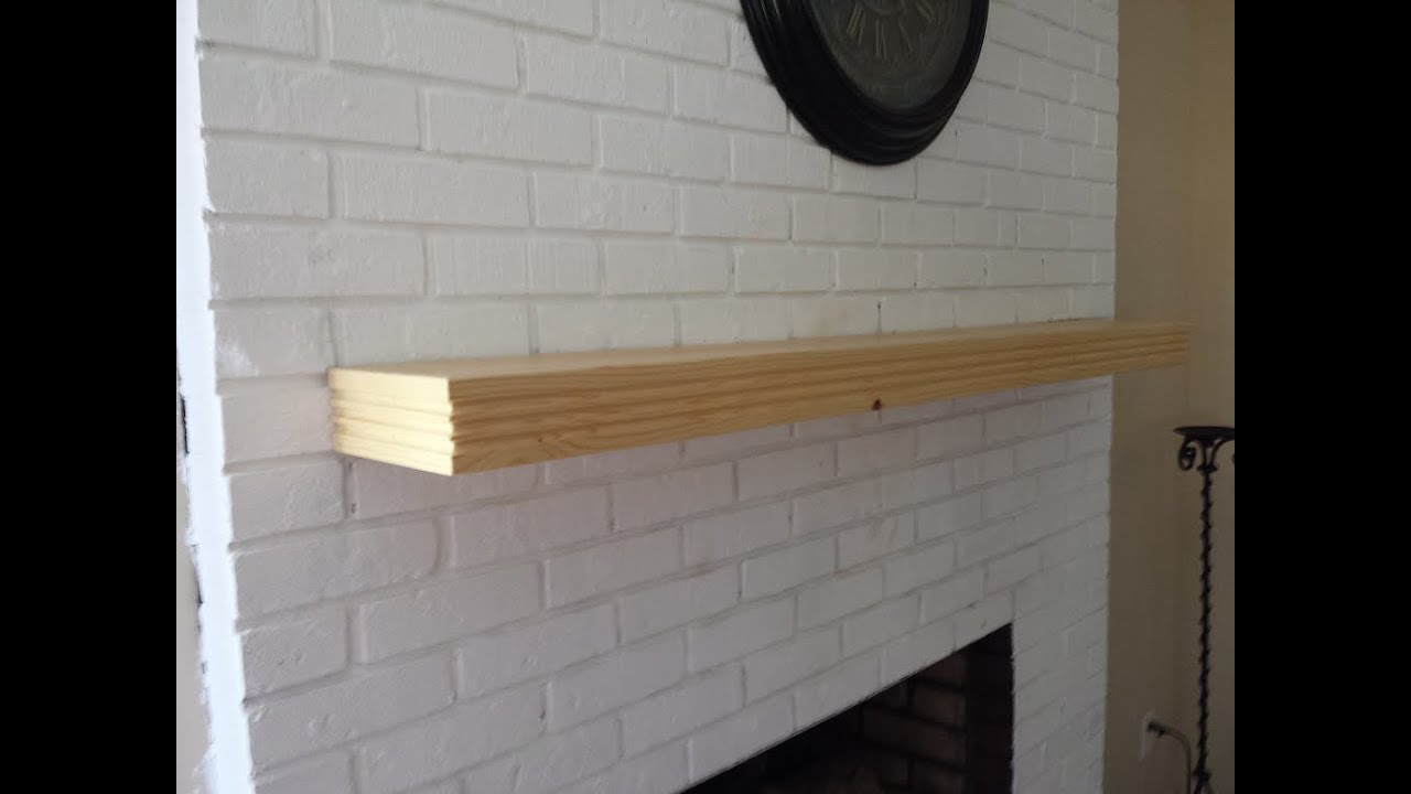 6 Ft Fireplace Mantel Gpw 53 How To Make A Floating Fireplace Mantle