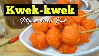 Kwek kwek (Filipino Street Food)