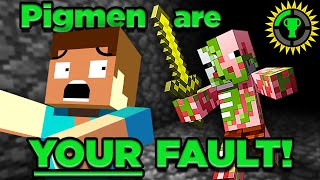 Download Game Theory: The Tragic Story of Minecraft's Zombie Pigmen (Piglins) Mp3 and Videos
