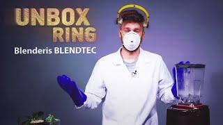 Will It Blend?   BLENDTEC   Unbox Ring apžvalga