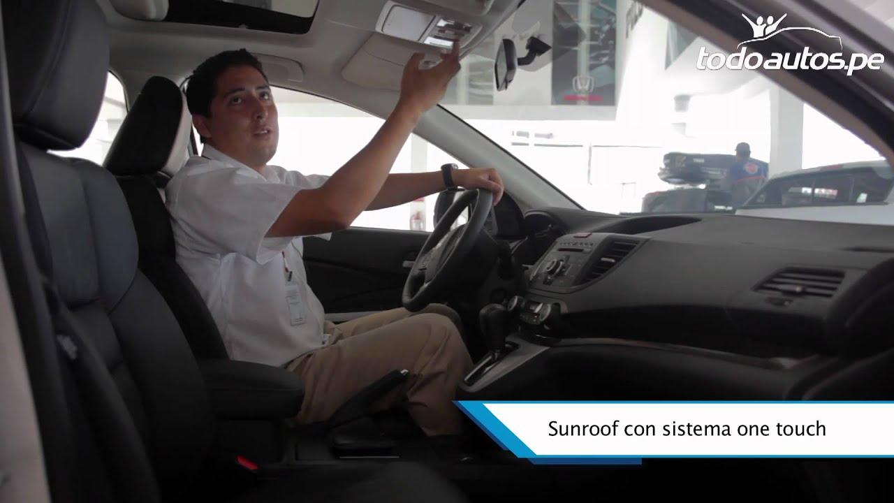 Toyota Rav4 2002 En Venta >> Nueva Honda CR-V en Perú I Video en Full HD I Presentado por Todoautos.pe - YouTube