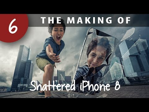 The making of: A shattered iPhone 8