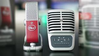 معدات يوتيوب #6 - مايكروفون Blue Raspberry ضد Shure MV51