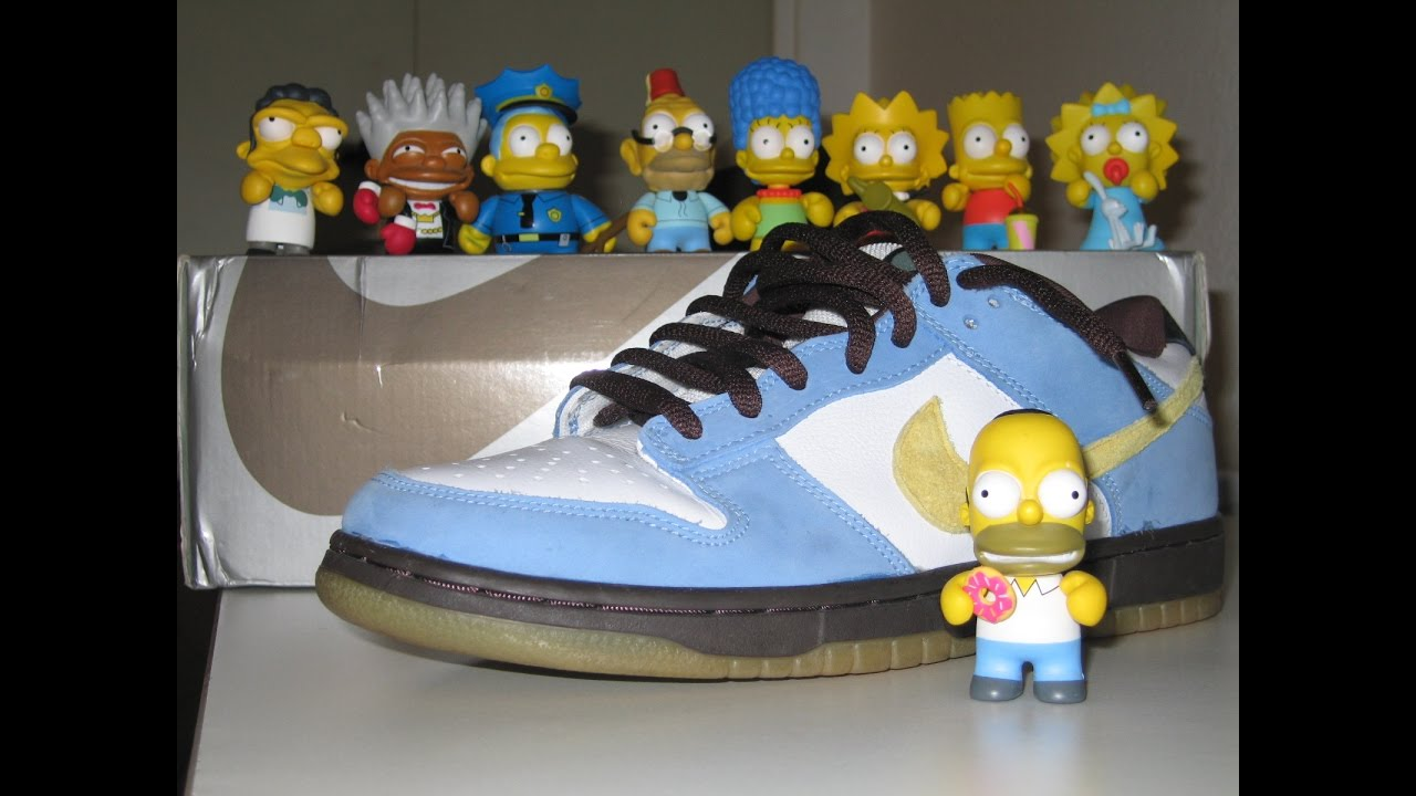 Nike Sb Homer simpson - YouTube