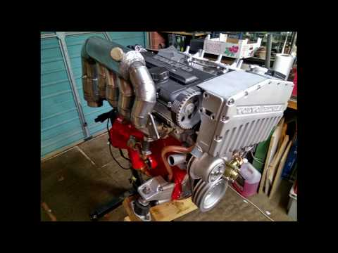 Volvo Penta AQ171C Engine Restore Project