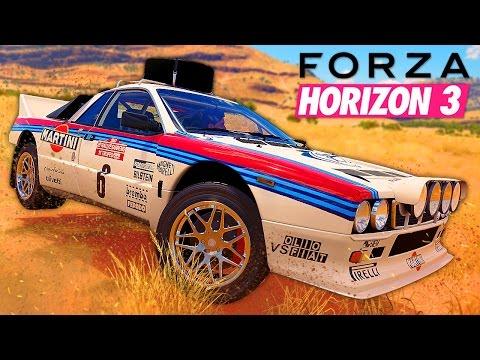 OLDSCHOOL RALLY CAR! Forza Horizon 3 #13