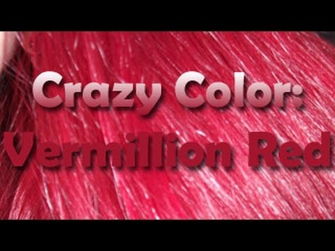 How to Dye your Hair Red with ~Crazy Colors~