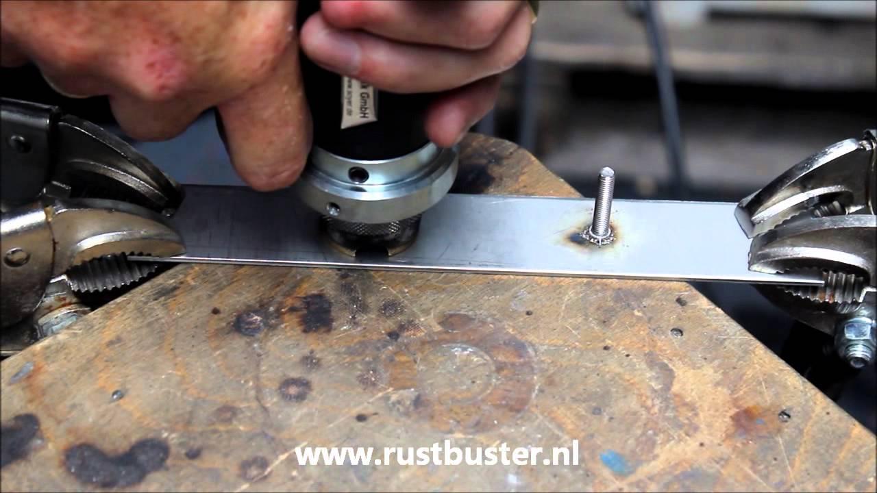 Stiftlassen (stud welding) - YouTube
