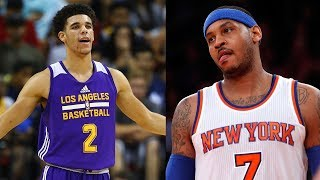 Carmelo Anthony PISSED at ESPN for Ranking Him LOWER than Lonzo Ball