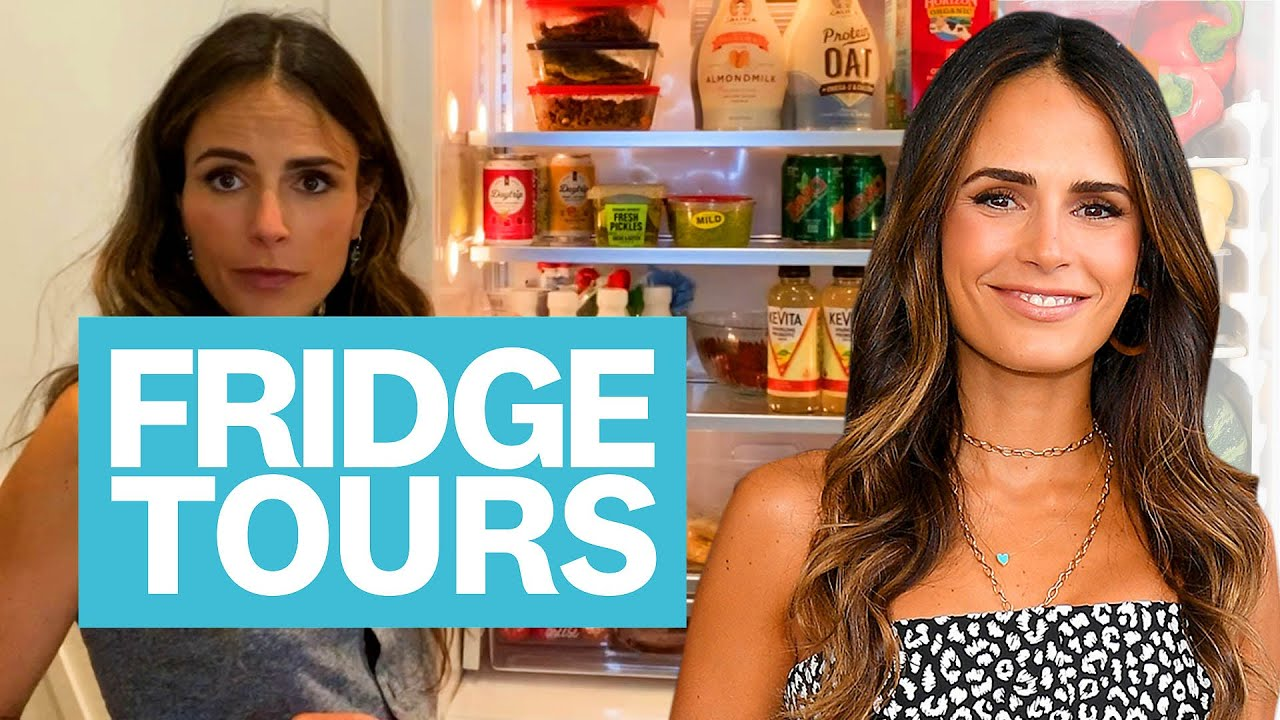 Jordana Brewster's Healthy Meals, Stir Fry and Love For Ginger ale   Fridge Tours   Women's Health