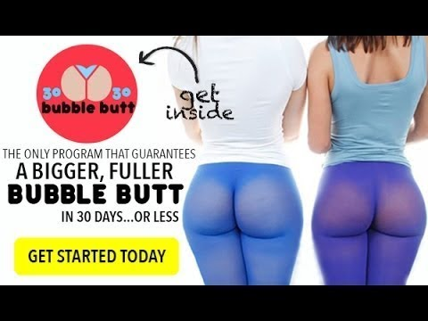 How to get a bigger butt in a week