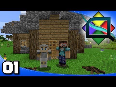 Minecraft modded let's play #11 - Автоматическая добыча лавы