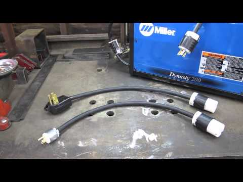 Multi Volt Adapters for Miller Dynasty Part 1 - YouTube