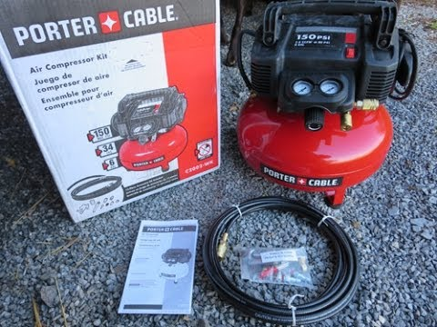 I Got An Air Compressor Porter Cable C2002 Wk Youtube