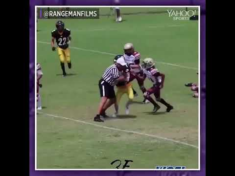 Another Ref Tackles High School Running Back