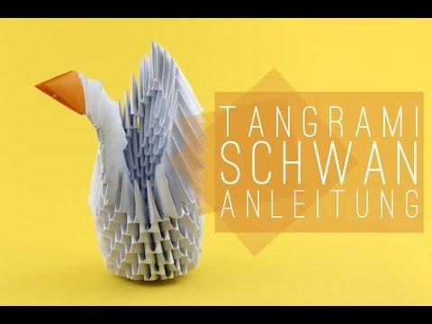 tangrami schwan falten tangrami swan anleitung youtube. Black Bedroom Furniture Sets. Home Design Ideas
