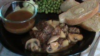 Beef, Mushroom And Potato Skillet Meal