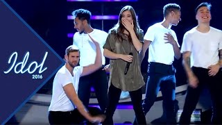 "Hailee Steinfelds ""dansare"" Pär Lernström stjäl showen - Idol Sverige (TV4)"