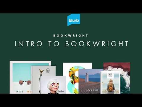 Blurb BookWright: Intro to Bookwright