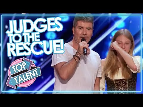 JUDGES TO THE RESCUE! Simon Cowell & Co Step In To SAVE AUDI