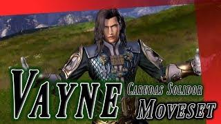 Vayne Carudas Solidor Moveset + Detail - Dissidia Final Fantasy NT (DFFAC/DFFNT)