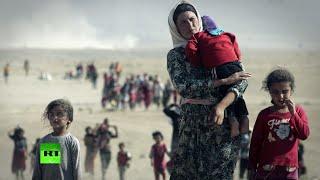 ООН сообщила о вопиющих случаях насилия и сексуальной эксплуатации женщин, попавших в плен ИГ(18+)