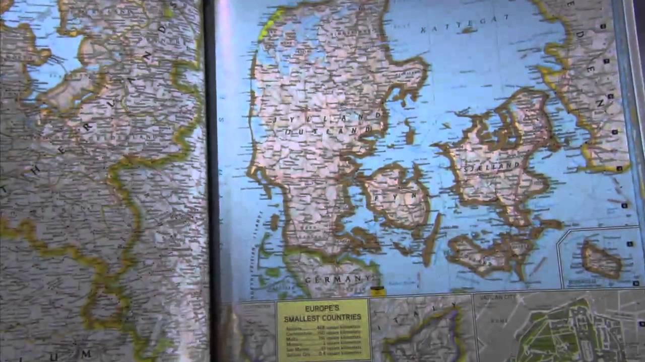 National Geographic Atlas Of The World 9th Edition Youtube