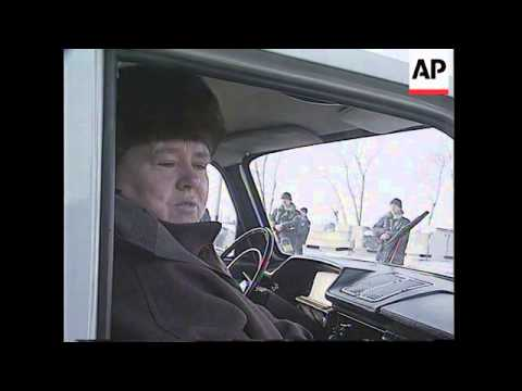 RUSSIA/CHECHNYA: COSSACKS CONCERNED OVER FUTURE AFTER ELECTIONS