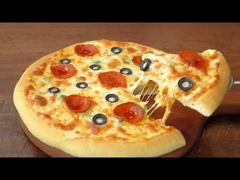 Best Homemade Pizza :: Pizza Dough Recipe :: Tomato Sauce Recipe :: It is very delicious - 매일맛나 delicious day