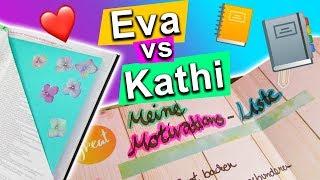 DIY Planner gestalten | Organisations Ideen für deinen Kalender |Eva vs Kathi Sonntagschallenge #178