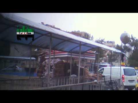 دمشق - ركن الدين - حاجز ساحة شمدين 15-1-2013