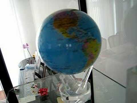 the moving globe youtube