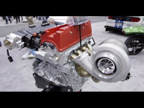 A 1000 Horsepower K24 4 Cylinder Street Engine by 4 Piston