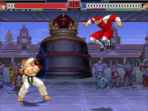 MUGEN:Street Fighter Boss Rush