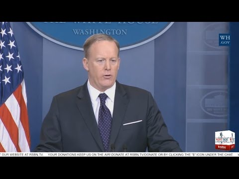 LIVE Stream: White House Daily Press Briefing with Sean Spicer 5/9/17