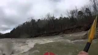 Little Missouri river, Arkansas 1-3-15