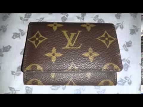 Louis vuitton business card holder in monogram youtube louis vuitton business card holder in monogram reheart Image collections