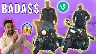 WE GOT EPIC NEW MOTORCYCLES! GEORGE IS WORRIED! *Challenge*